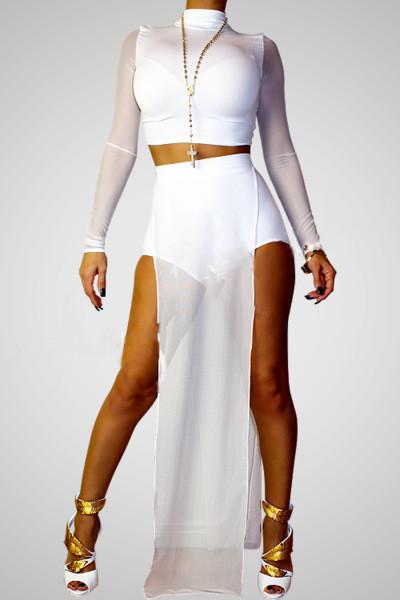 New arrival mesh skirt set – lafashionistarz