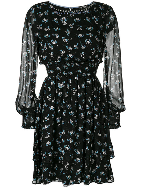 Twin-Set dress print dress women print black