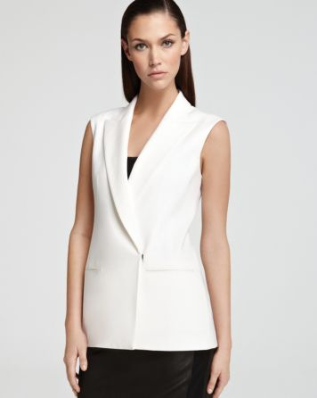 Theory Vest - Annea | Bloomingdale's