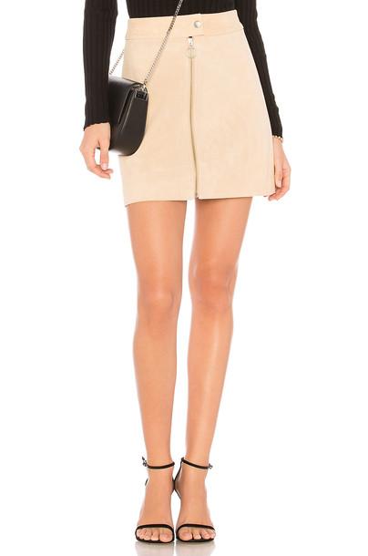 CAPULET skirt mini skirt mini cream