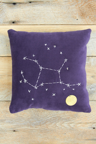 catherine womens star sign pillows