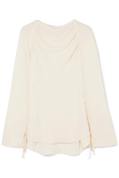 MARNI blouse cream top