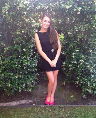 dress pink shoes black dress little black dress sparkle dress belt prom dress backless prom dress
