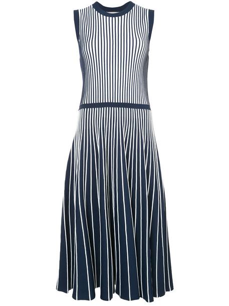 jason wu dress pleated dress pleated women spandex blue