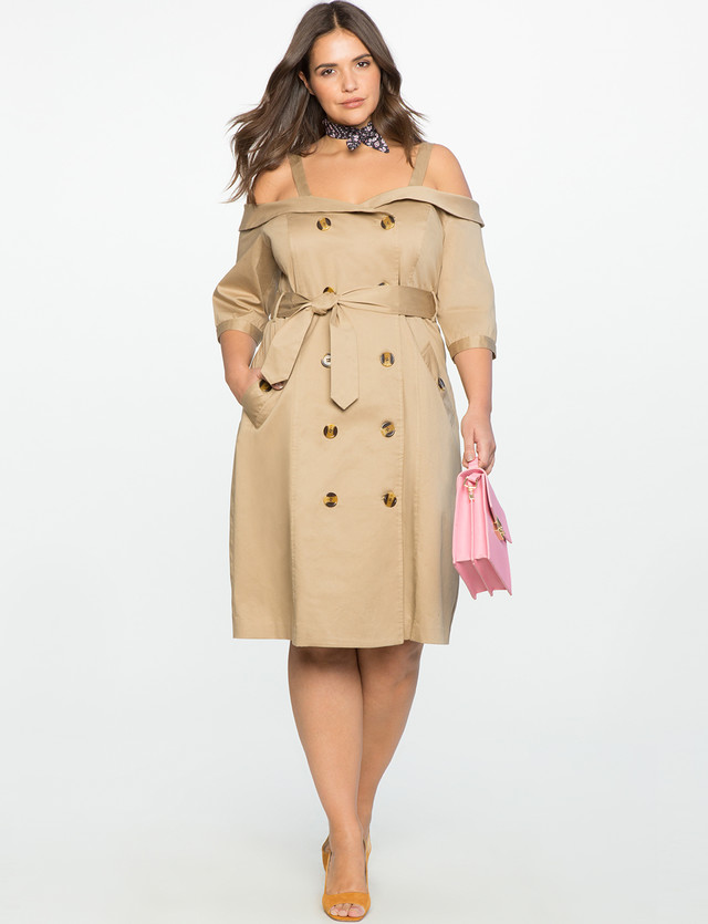 Burberry Trench Coat As Dress - Wheretoget