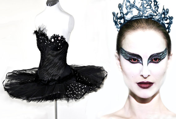 Black swan costume  made to measure  featured by deconstructress
