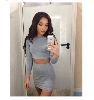 skirt mini skirt dope fresh party outfits body goals on fleek jersey knit mini style clubwear clubbing outfits club wear dress