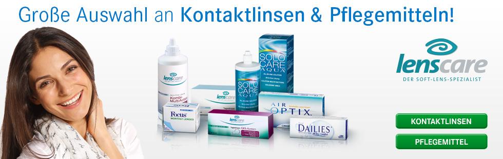 Kontaktlinsen, Brillen, Pflegemittel und Versand von Lensbest - Deutschlands größter Versender für Kontaktlinsen und Brillen