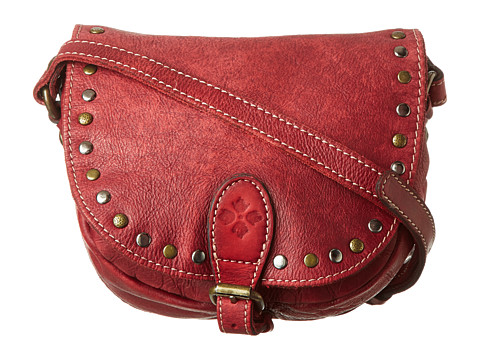 Patricia Nash Small Isola Flap Hobo Red - Zappos.com Free Shipping BOTH Ways