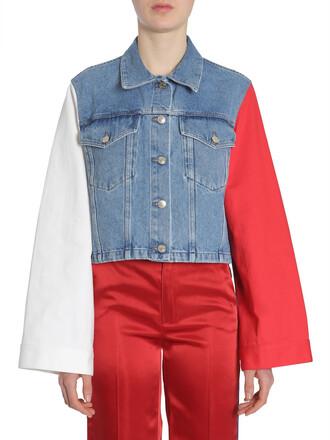 jacket denim jacket denim multicolor
