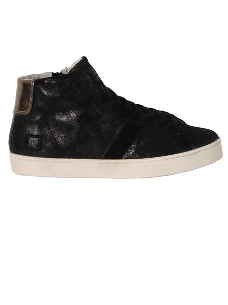 D.A.T.E. high sneakers black shoes