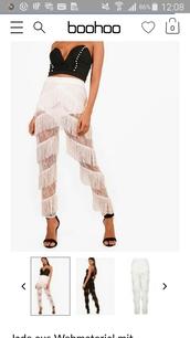 pants,black,fransen,boohoo.com