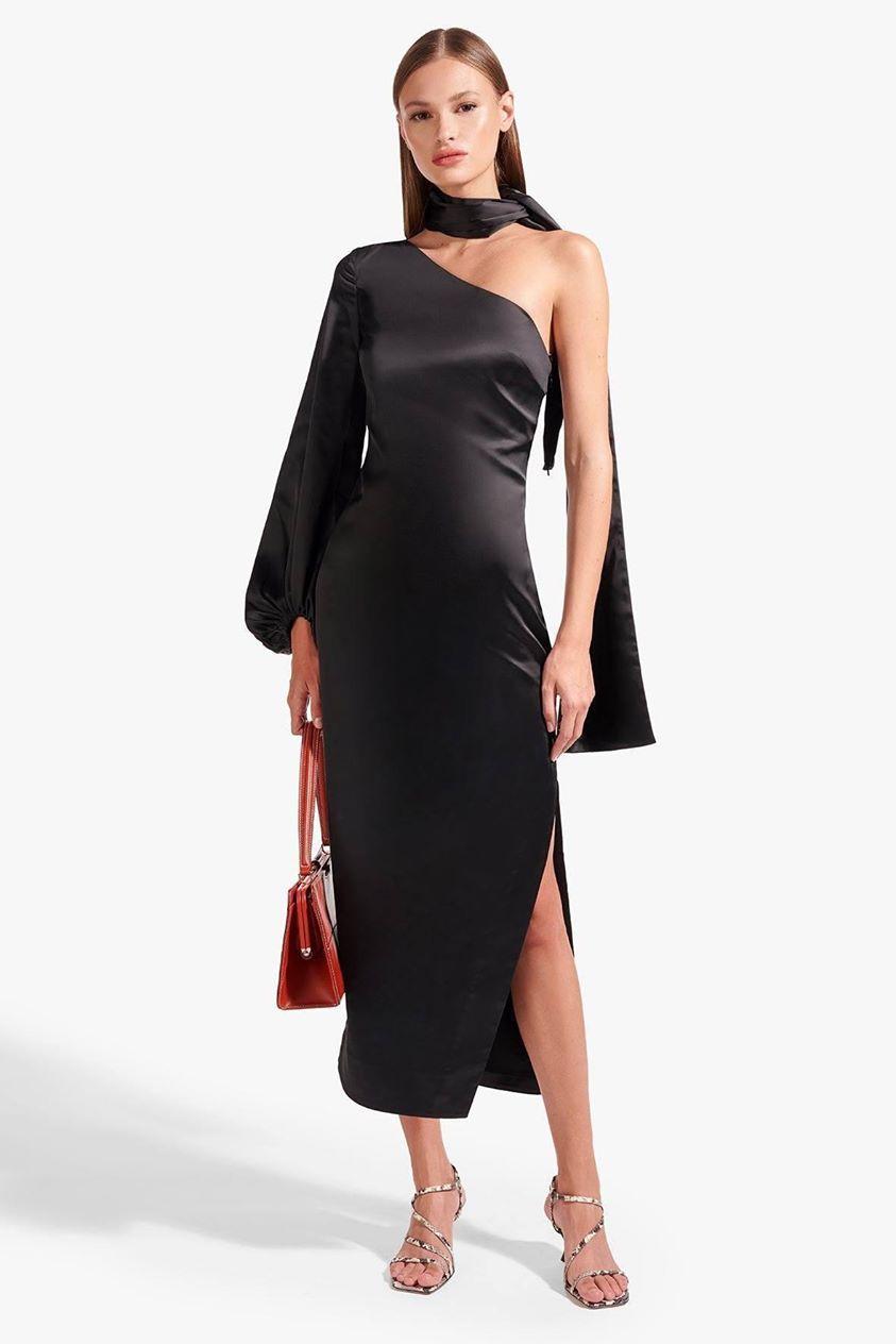 FARRAH DRESS | BLACK