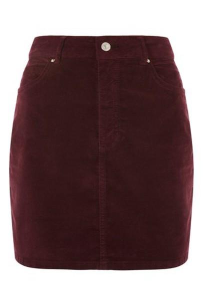 Topshop skirt mini skirt mini velvet