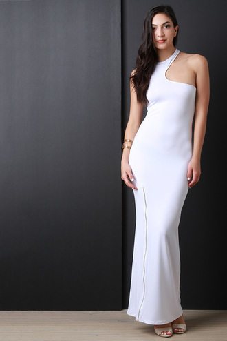 dress basiklush clubwear bodycon dress maxi dress white white dress bodycon party dress trendy