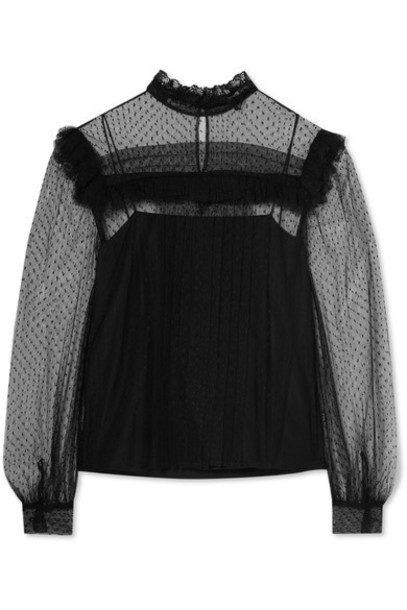 Miu Miu blouse black top