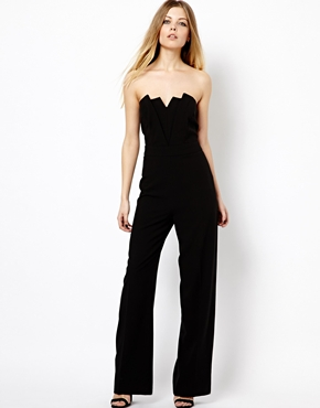ASOS | ASOS Bandeau Jumpsuit With Wide Leg at ASOS