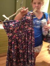 dress,floral,strapless,geri c,geri c new york,front zipper