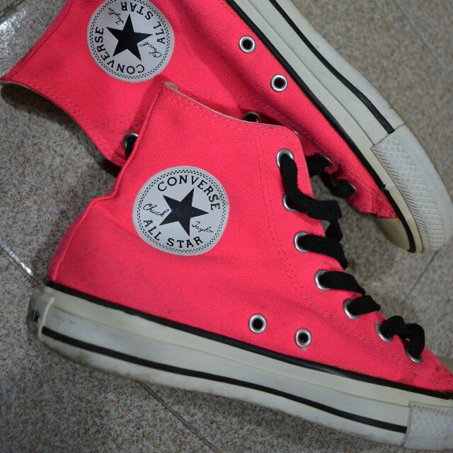 converse all star fluo