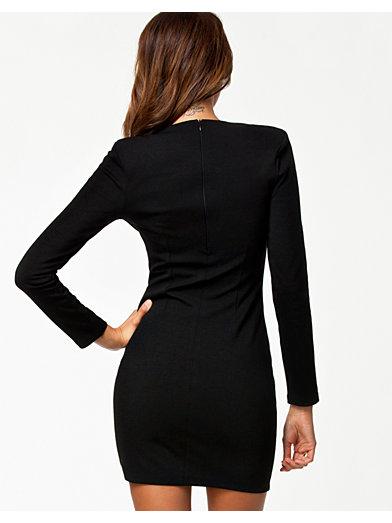Commander Dress - Nly Trend - Svart - Festklänningar - Kläder - Kvinna - Nelly.com