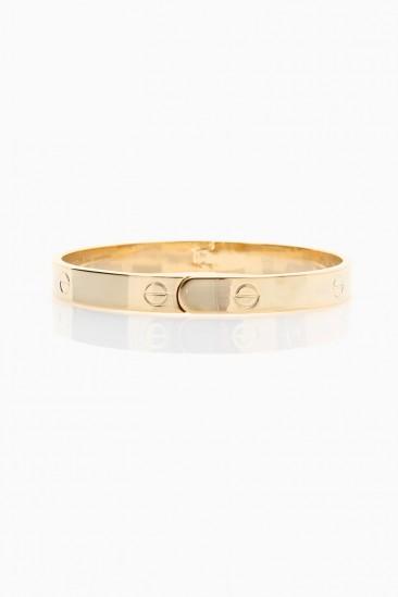 LoveMelrose.com From Harry & Molly | Designer Look Bracelet - Gold