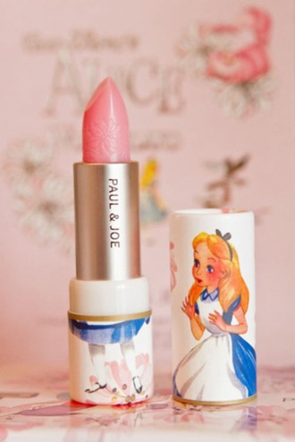 jewels make-up lipstick alice in wonderland pink lipstick beautiful paul and joe beaute