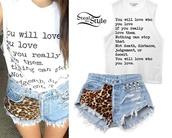 shirt,madison beer,true love,studded shorts,shorts