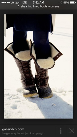 shoes boots fur winter boots fall outfits fashion style sherpa lined winter outfits black