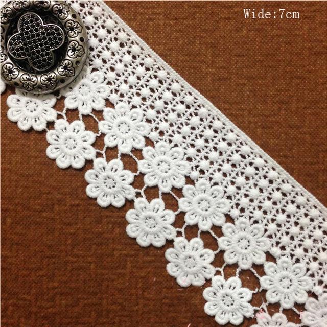 Aliexpress Com Buy Venice Rococo Diy Handcraft Crochet Lace Trim