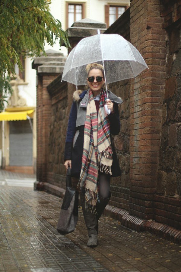 my showroom shoes coat sunglasses bag dress scarf