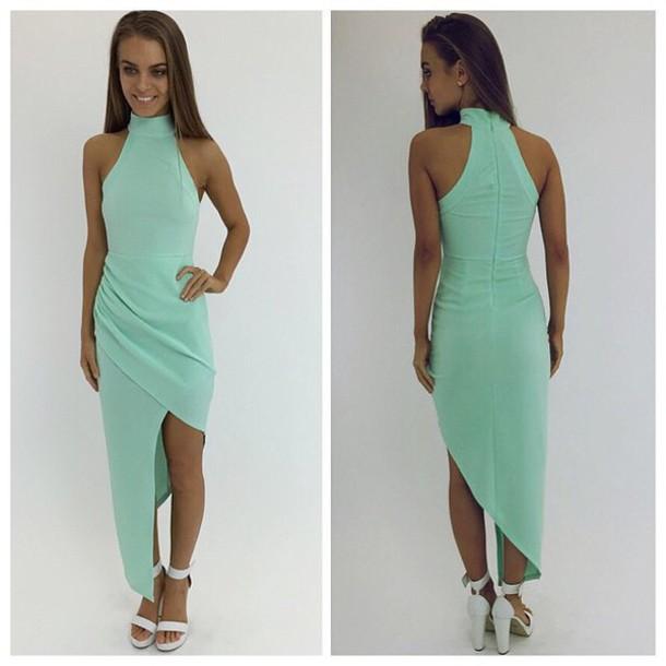 Dress Mint Mint Dress Mint Formal Dress Formal Dress Prom Dress