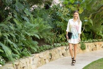ashlee frazier blogger shirt dress