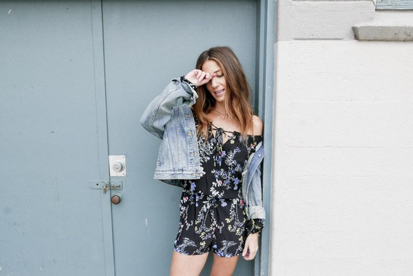 to bruck ave blogger romper jacket dress shoes