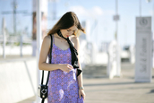 shiny sil,blogger,shoes,dress,bag,jewels,scarf