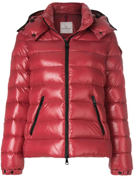 moncler jacket women red