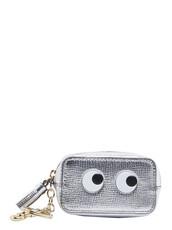 purse,silver,bag
