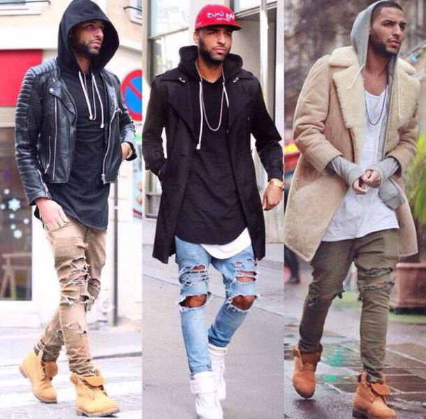 Jeans Coat Tumblr Coat Dope Ripped Jeans