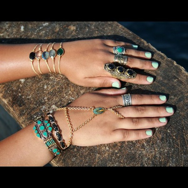 jewels bohemian ring jewelry bracelets