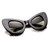 Retro Mod Super Trendy Womens Fashion Cat Eye Sunglasses 9233