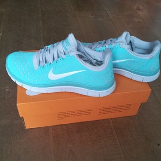 tiffany blue nikes nike free run nike sneakers nike shoes nike running shoes nike tiffany blue