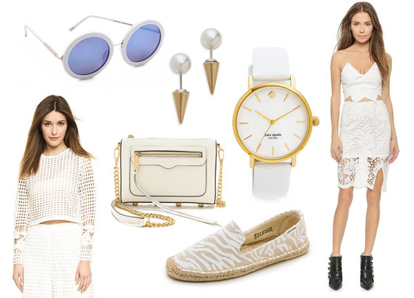 a cup of style blogger sunglasses top jewels bag shoes dress kate spade