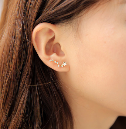 Big Dipper Earrings - Wishbop.com