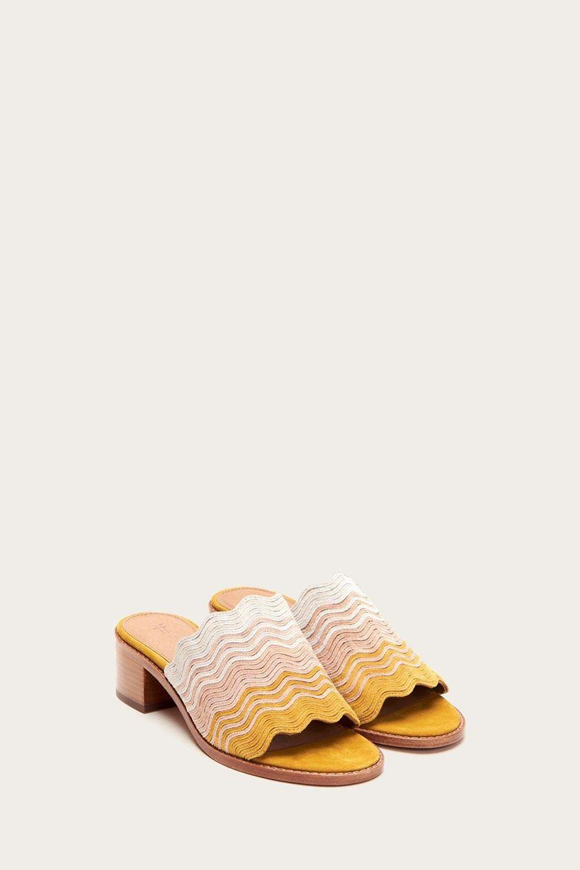 Cindy Wave Mule Sandals