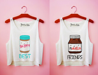 yotta kilo tank top friends white tank top cute funny t-shirt