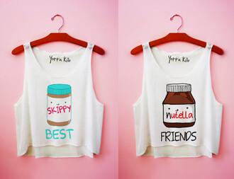 yotta kilo tank top friends white tank top cute funny t-shirt