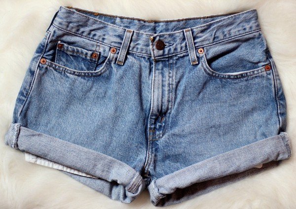 shorts denim denim shorts vintage blue High waisted shorts jeans summer shorts denim shorts tumblr shorts