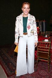 jacket,busy philipps,pants,top,belt,fall outfits,celebrity style
