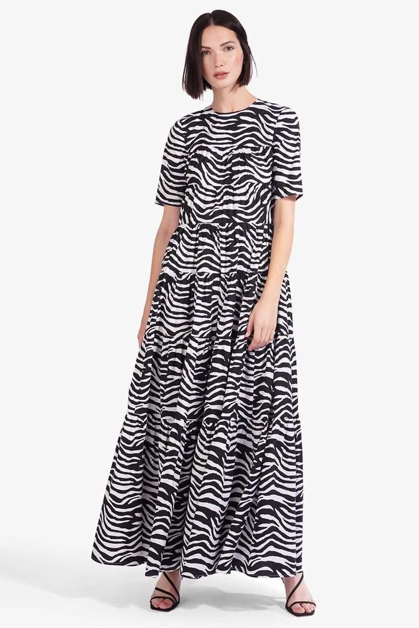 HYACINTH DRESS | ZEBRA