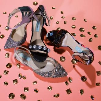 shoes zappos high heels heels glitter glitter shoes