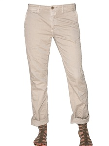 Cotton drill trousers